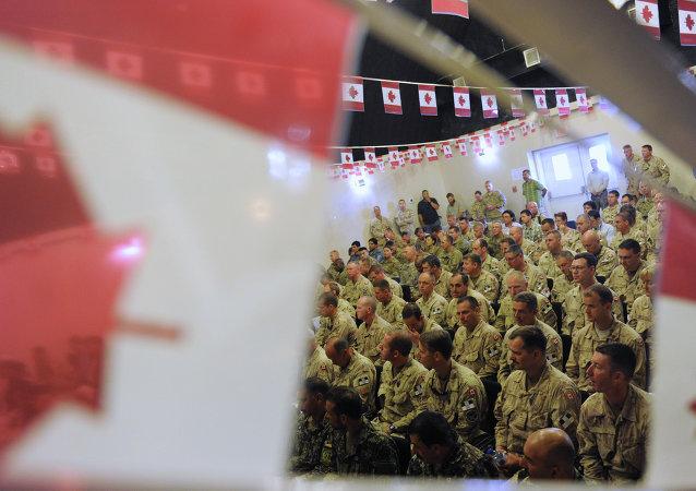 Soldados de Canadá (archivo)