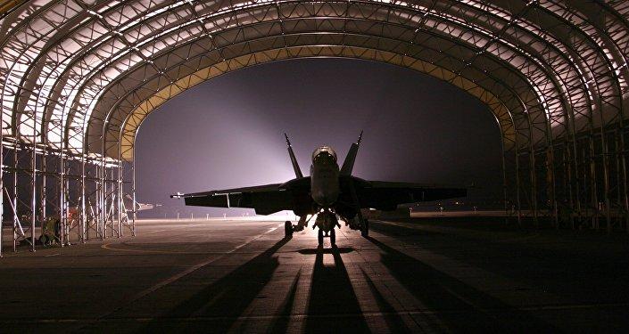 Un avión de combate