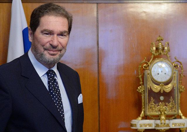 Michael Christides, secretario general de la Organización de Cooperación Económica del Mar Negro (archivo)