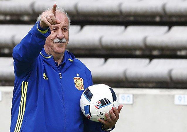Vicente del Bosque, el seleccionador español de fútbol