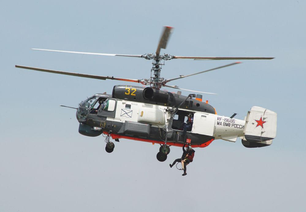 'Morskoy as-2016': el concurso de habilidades aéreas de Rusia