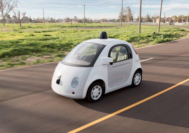 Vehículo autónomo presentado por Google