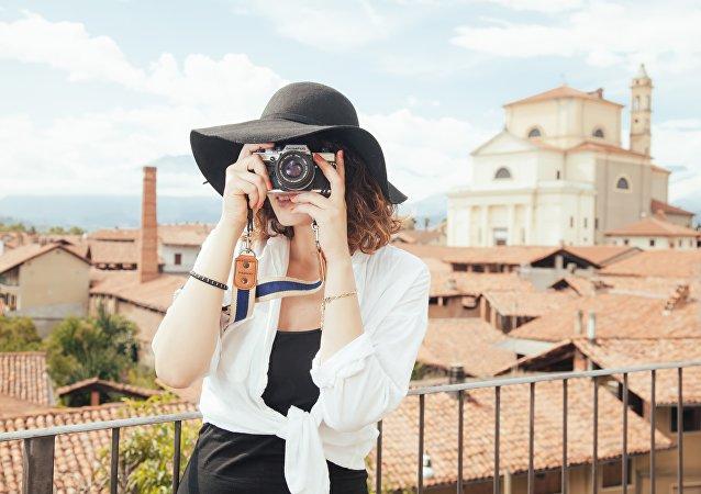 Una turista