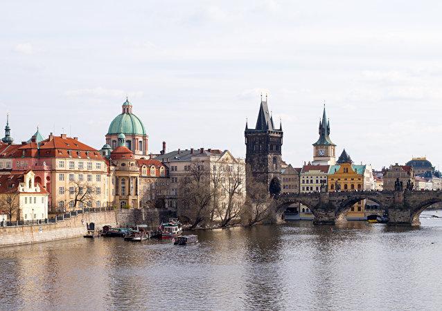 Praga, capital de la República Checa.