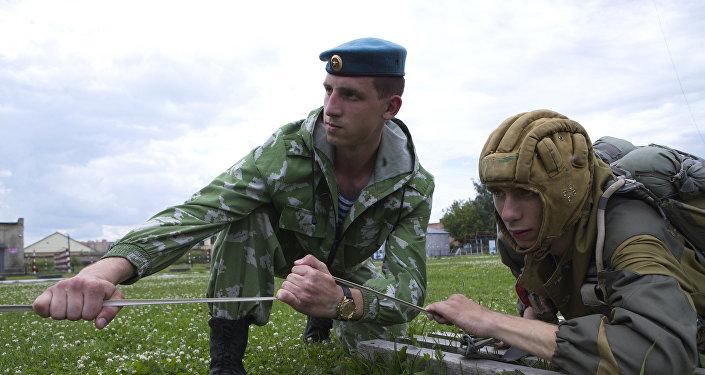 Paracaidistas rusos