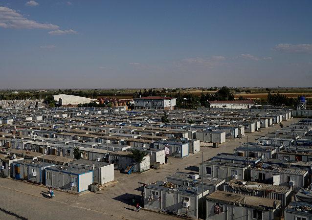 Campo de refugiados en Turquía