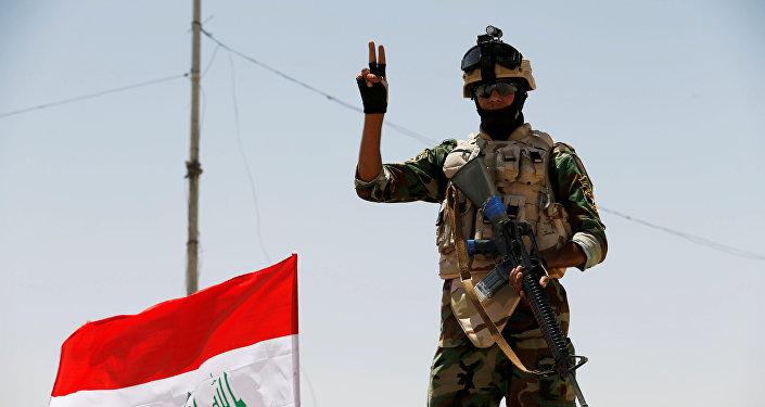 Soldado de las Fuerzas Armadas de Irak