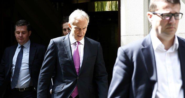 Tony Blair, el ex primer ministro del Reino Unido