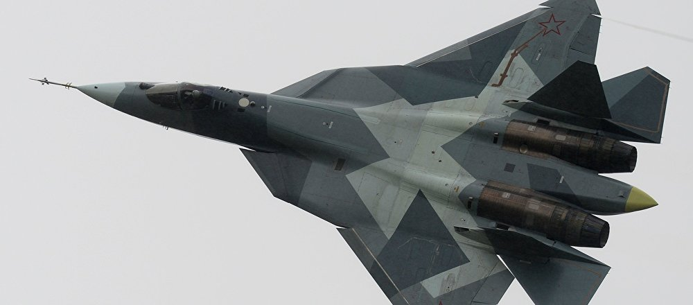 Caza ruso de la quinta generación T-50