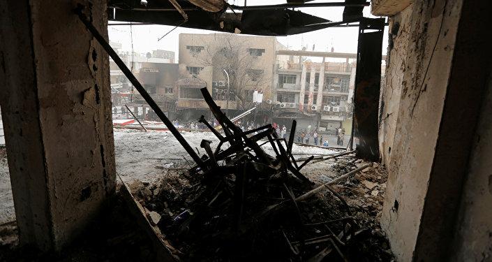 La situación en Bagdad, la capital de Irak