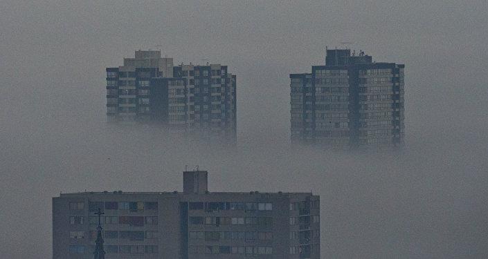 La contaminación en Santiago de Chile