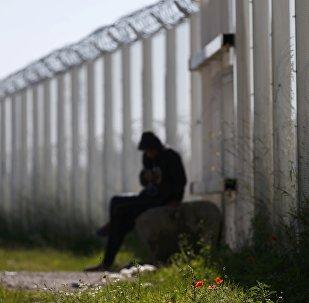 Un migrante en Europa (archivo)