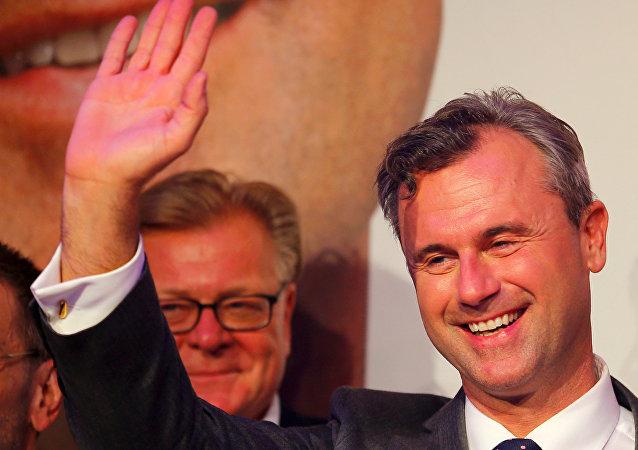 Norbert Hofer, el candidato de la derecha austriaca en las presidenciales