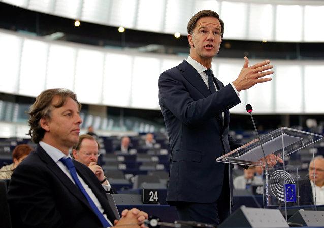 Primer ministro de Países Bajos, Mark Rutte (archivo)