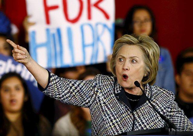 Hillary Clinton, candidata a la presidencia de EEUU