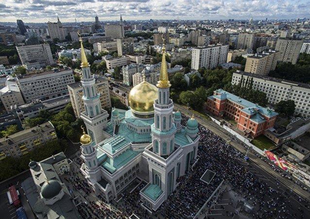 La Mezquita Catedral de Moscú