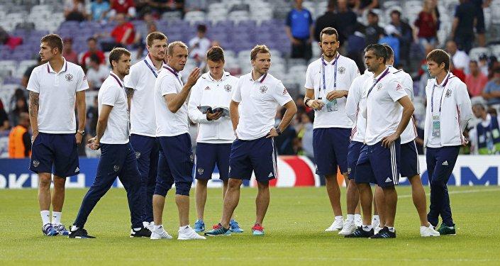 Selección nacional rusa de fútbol