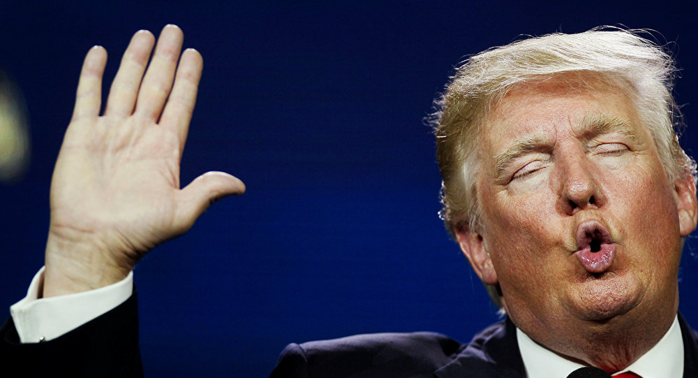 Donald Trump, candidato republicano a presidencia de EEUU