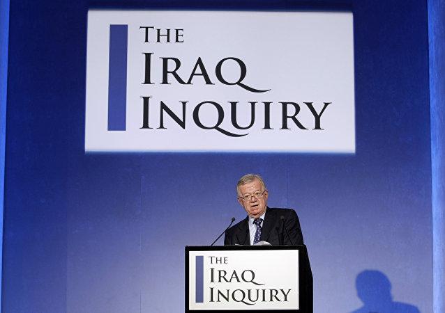 El presidente del proceso contra Tony Blair Sir John Chilcot