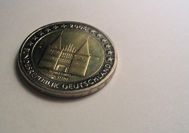 Moneda de euro alemana