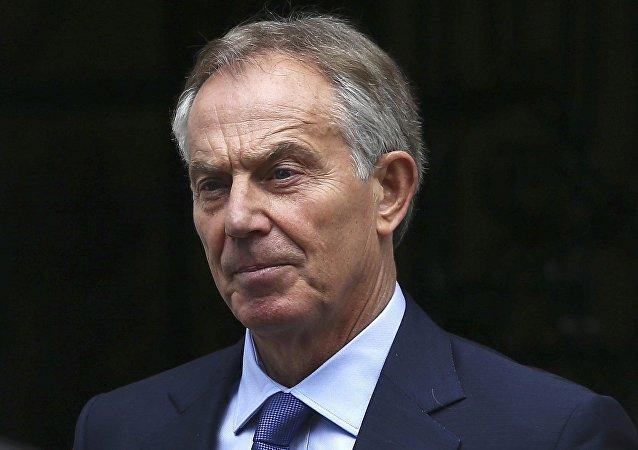 Tony Blair, ex primer ministro del Reino Unido