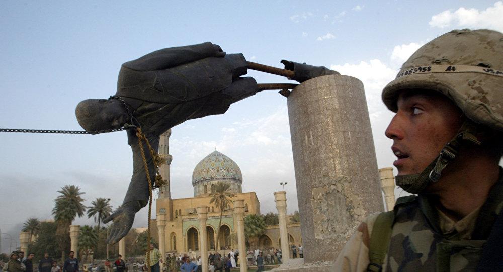 La guerra en Irak de 2003