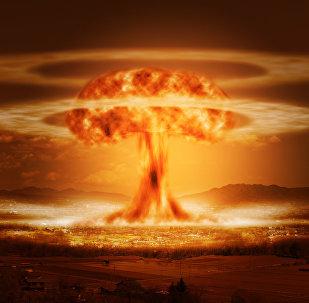 La explosión de una bomba nuclear (imagen referencial)