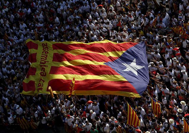 Bandera de Cataluña