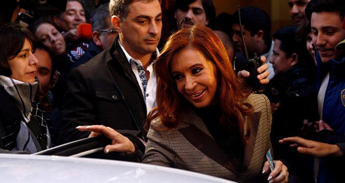 Cristina Fernández de Kirchner, expresidente de Argentina