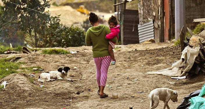 Desplazados en Colombia (archivo)
