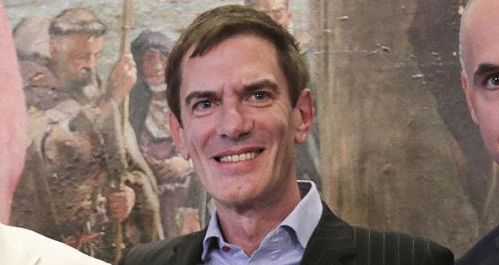 Darío Lopérfido, ministro de Cultura de la ciudad de Buenos Aires