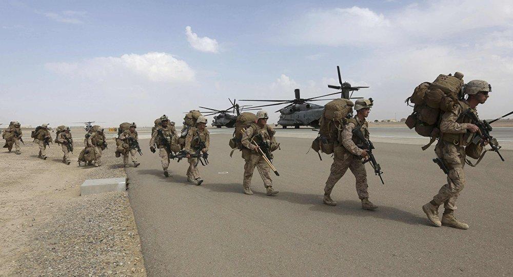Las tropas estadounidenses en Afganistán (archivo)