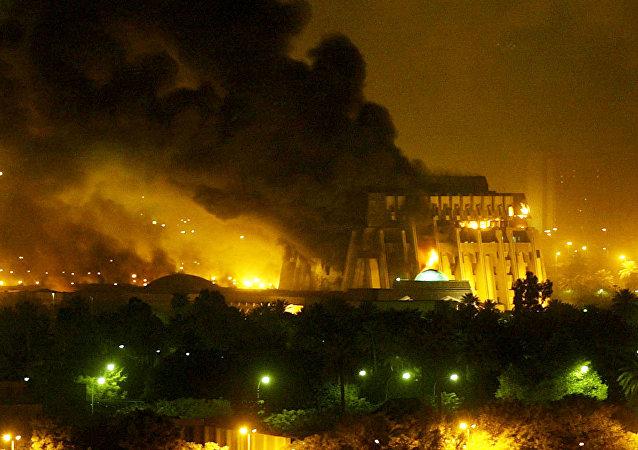 La guerra de Irak, 2003 (archivo)