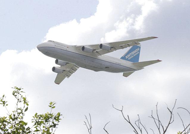 El avión An-124 Ruslán de Ucrania