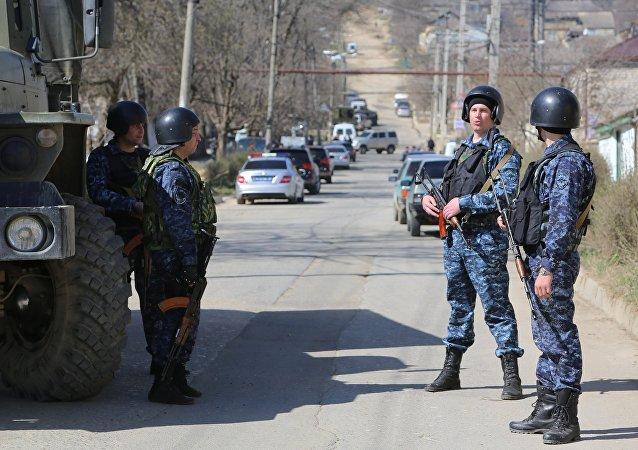 Policía de Daguestán (archivo)