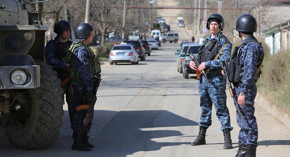 La operación antiterrorista en Daguestán (archivo)