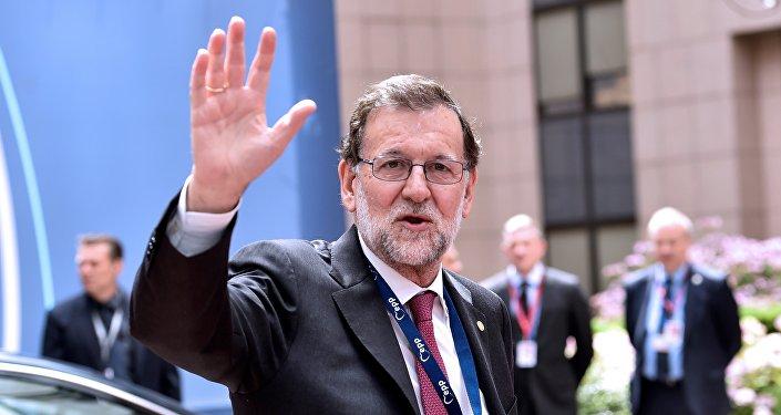 Mariano Rajoy, presidente del Gobierno español en funciones