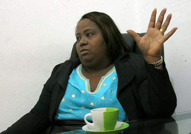 Jacqueline Montero, una exprostituta, asumirá el cargo de diputada del Congreso de República Dominicana en agosto de 2016.