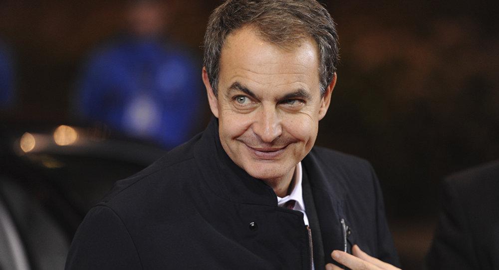 José Luis Rodríguez Zapatero, expresidente del Gobierno de España (archivo)
