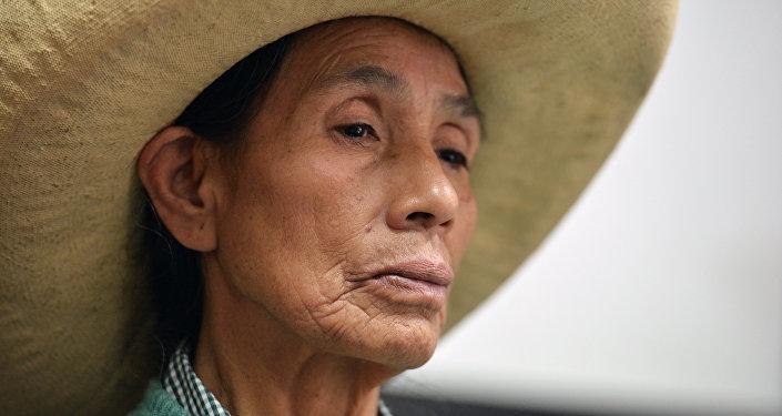 Una víctima de las esterilizaciones forzadas en Perú (archivo)