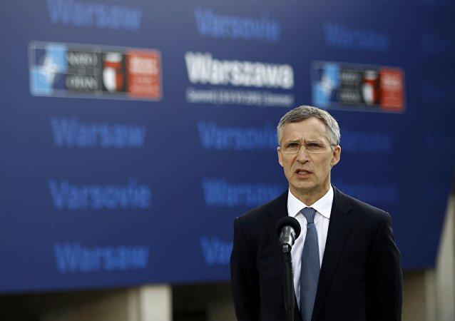 Jens Stoltenberg, secretario general de la OTAN (archivo)