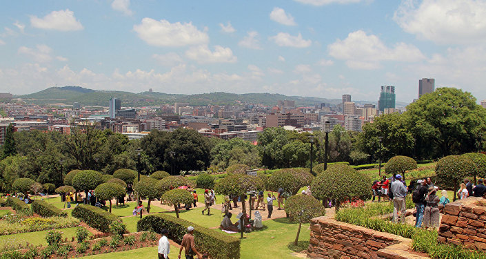 Pretoria, capital de Sudáfrica