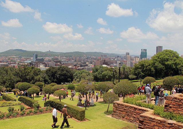 Pretoria, capital de Sudáfrica