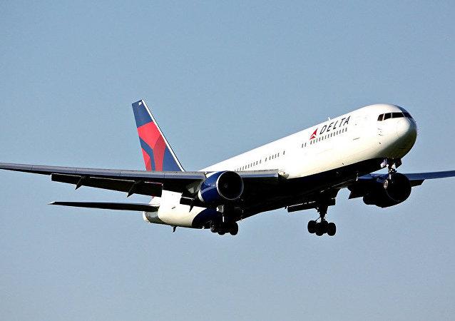Un avión de Delta Airlines (imagen referencial)