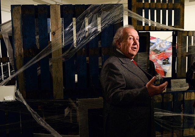 Zurab Tsereteli, escultor ruso