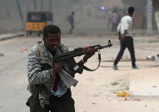 Soldado somalí