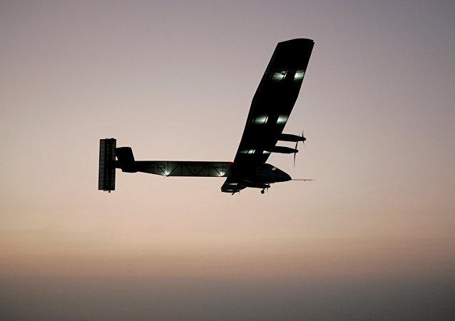 El avión Solar Impulse 2