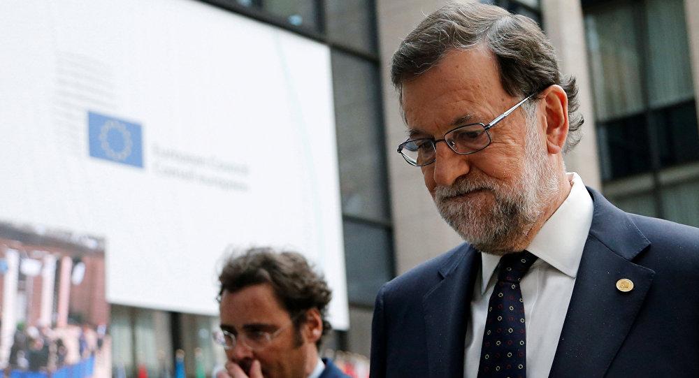 Mariano Rajoy, presidente de España en funciones
