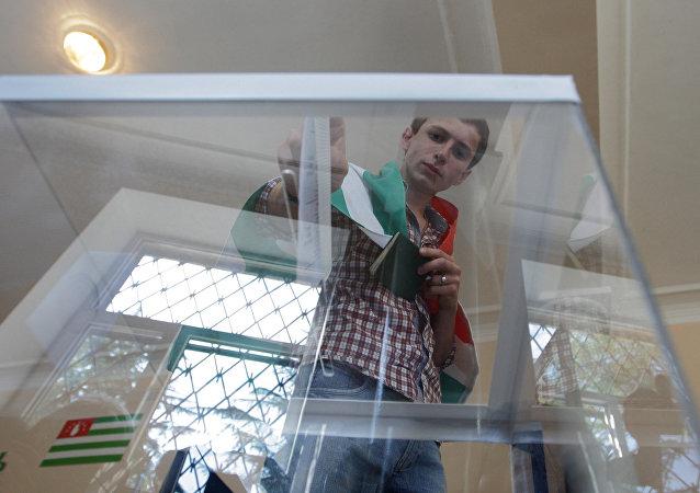 Elecciones en Abjasia (archivo)