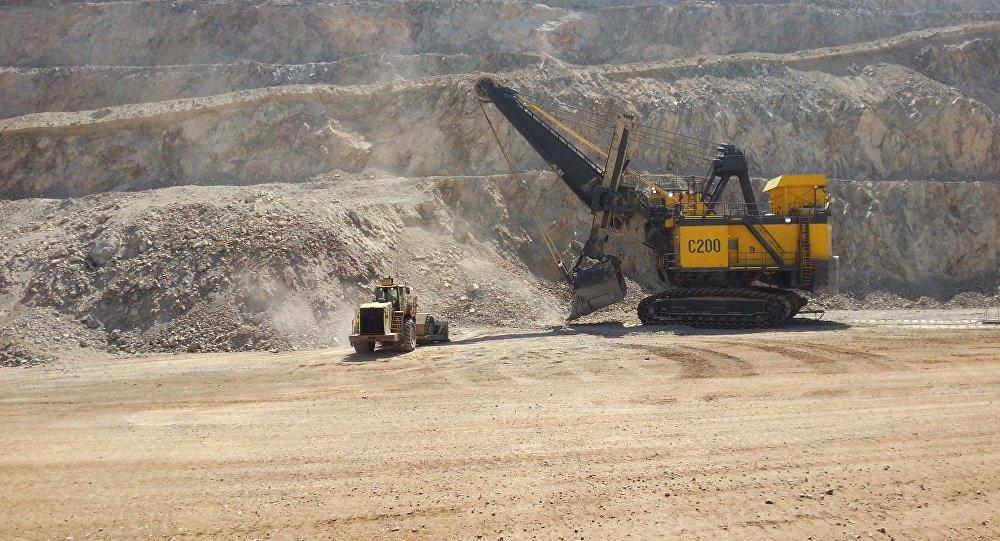 La mina Palo rojo Chuquicamata
